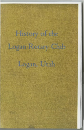 History of the Logan Rotary Club, 1955