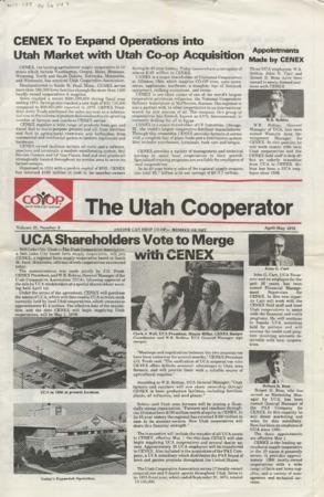 Utah Cooperator newspaper