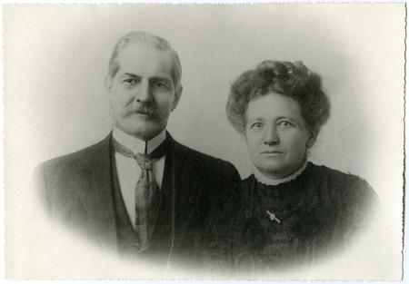 David and Bertha Eccles<br />