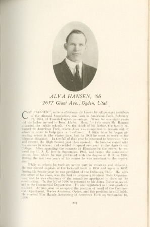1909 A.C.U. Graduate Yearbook, Page 85