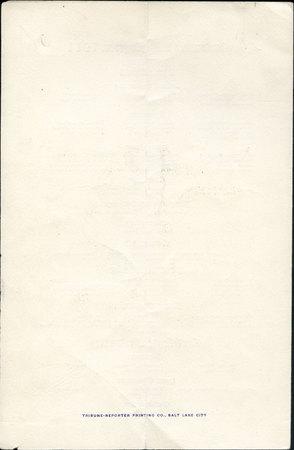 1911 UAC Commencement Program Back Cover