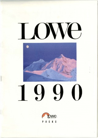 Lowe Alpine Systems, 1990