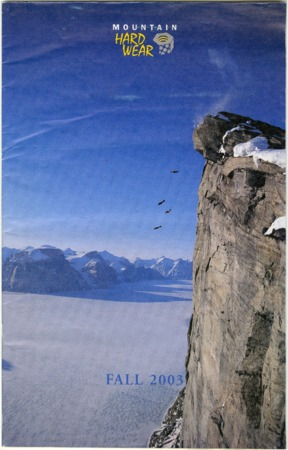 Mountain Hardwear, Fall 2003