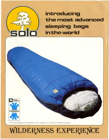 Wilderness Experience, sleeping bags, undated