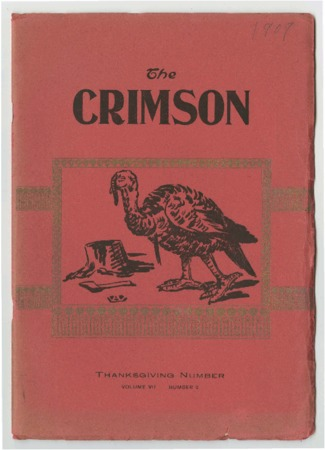 The Crimson, Thanksgiving Number, 1909