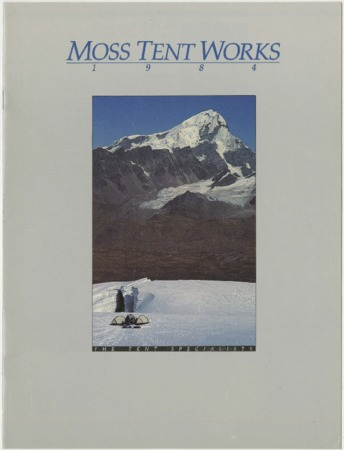Moss Tent Works, mountain, 1984