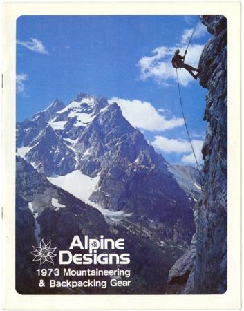 Alpine Designs, 1973 Mountaineering & Backpacking Gear