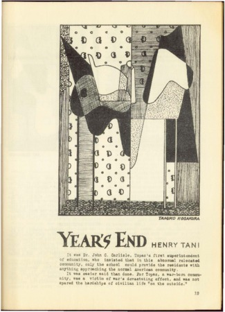 """""""Year's End"""" by Henry Tani"""