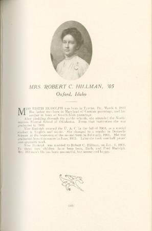 1909 A.C.U. Graduate Yearbook, Page 93