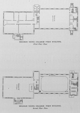 West Building - Floor Plans