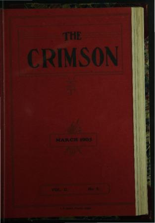 The Crimson, March 1905