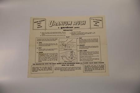 Uncatalogued-UraniumRushBoardGame-033.jpg<br /> Uranium Rush Instructions for Playing
