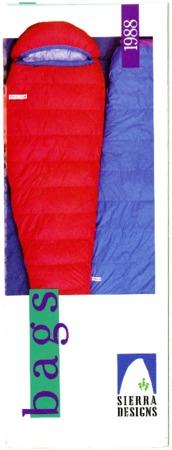 Sierra Designs, Bags, 1988