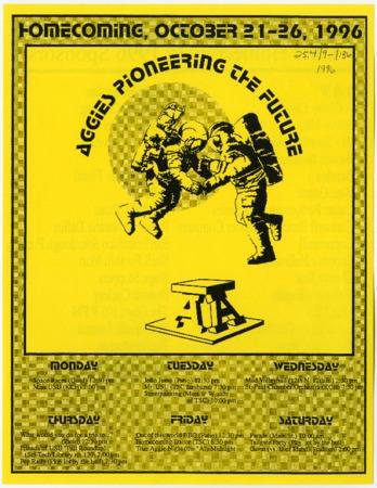 Homecoming schedule, 1996