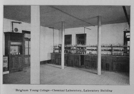 BYC Chemical Laboratory in the Laboratory Building
