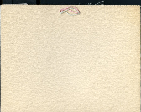 1898 UAC Commencement Program, Back Cover