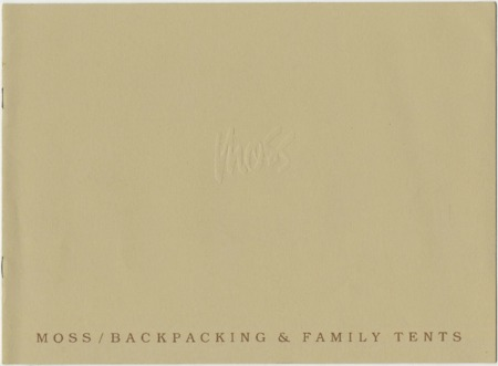 Moss Tent Works, 1981