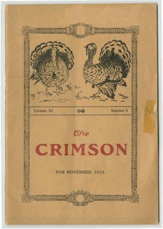 The Crimson, November 1913