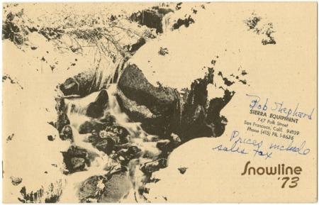 Snowline, 1973