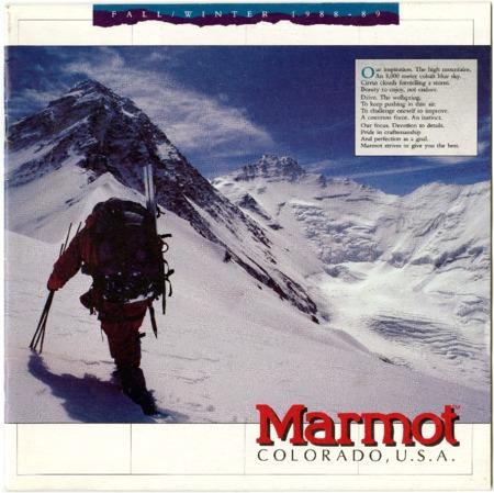 Marmot Mountain Works, 1988-1989