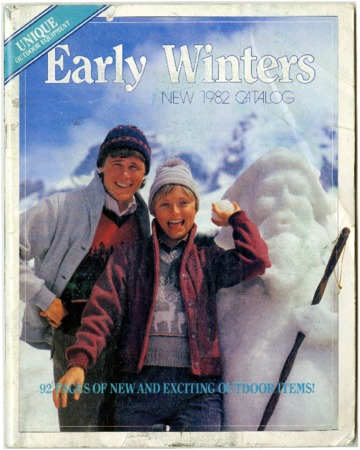 Early Winters, New 1982 Catalog
