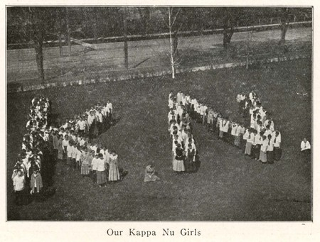 Kappa Nu from 1916 BYC Views Bulletin