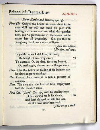 Hamlet, Act 5 Scene 1, d