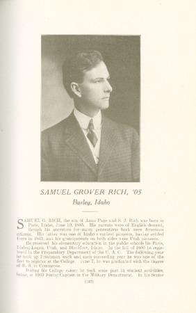1909 A.C.U. Graduate Yearbook, Page 187