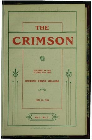 The Crimson, January 1904