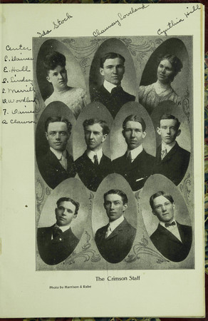 The Crimson (Monthly) Staff, 1905