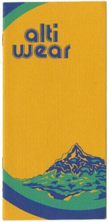 Alti Wear, 1976