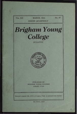 Brigham Young College Bulletin, March 1914