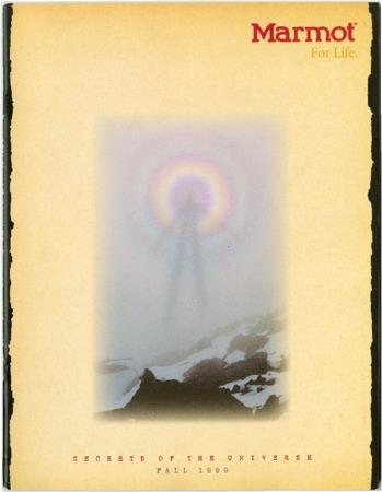 Marmot Mountain Works, Fall 1999