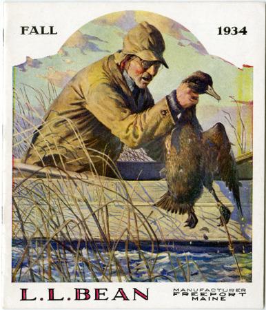 L.L. Bean, Fall 1934