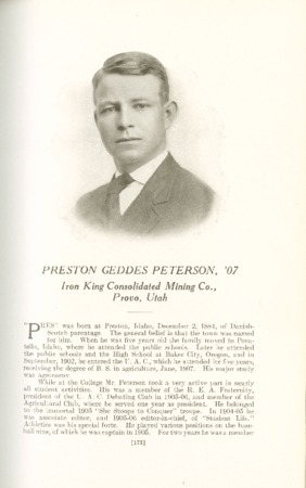 1909 A.C.U. Graduate Yearbook, Page 173