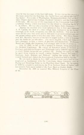 1909 A.C.U. Graduate Yearbook, Page 188
