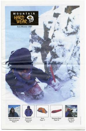 Mountain Hardwear, Fall/Winter, 1997