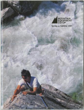 Mountain Equipment Co-op, Spring/Summer 2001