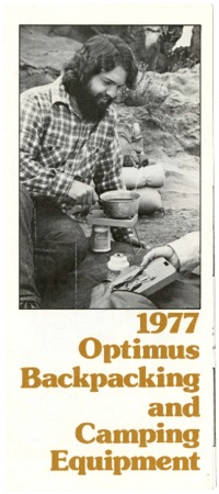 Optimus Backpacking and Camping Equipment, 1977