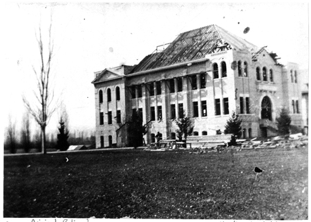 Nibley Hall, Brigham Young College