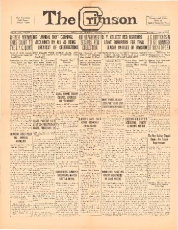 The Crimson, February 11, 1926