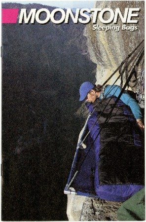 Moonstone, hanging on cliff, undated