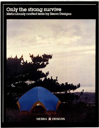 Sierra Designs, tent, 1981