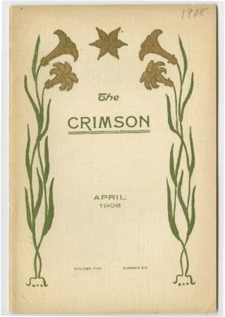 The Crimson, April 1908