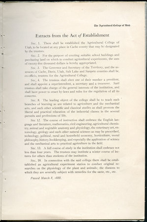 1908 UAC Commencement Program Page 3