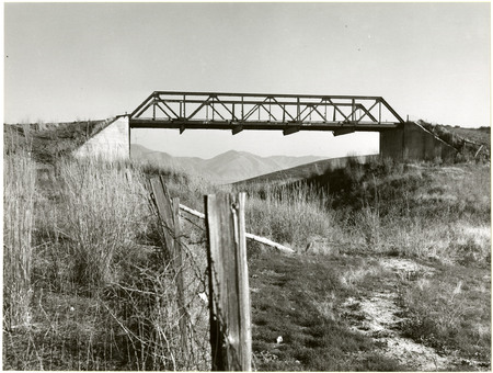 U.I.C. Bridge, Beaver Dam Divide, 1978<br />