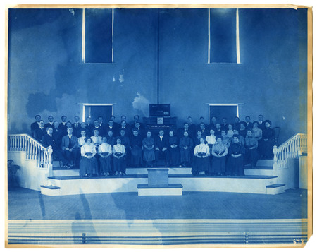 1896-1916 Agricultural College of Utah Cyanotype 30