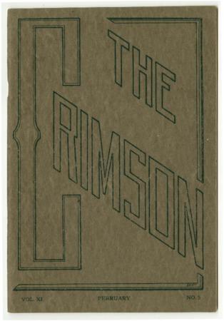 The Crimson, February 1914