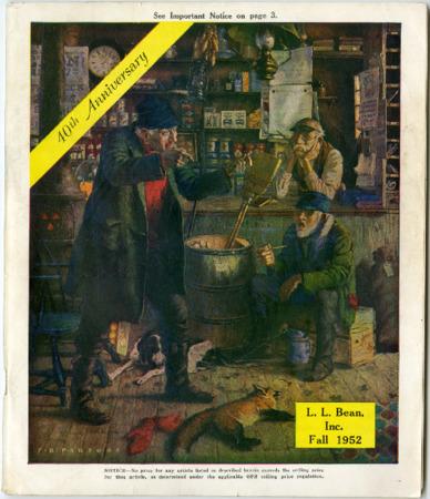 L.L. Bean, Fall 1952