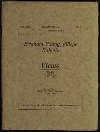 Brigham Young College Bulletin, September 1914